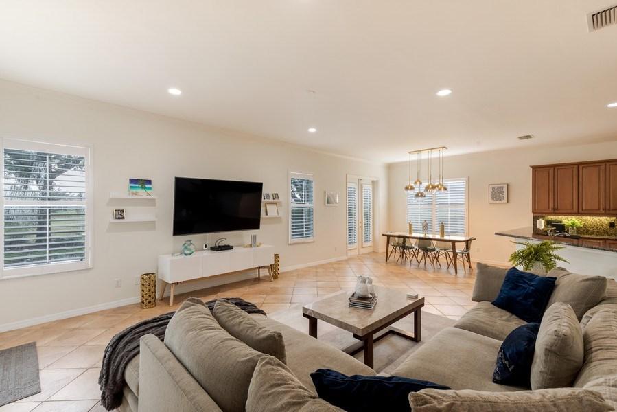 Real Estate Photography - 14638 Indigo Lakes CIR, Naples, FL, 34119 - Family Room