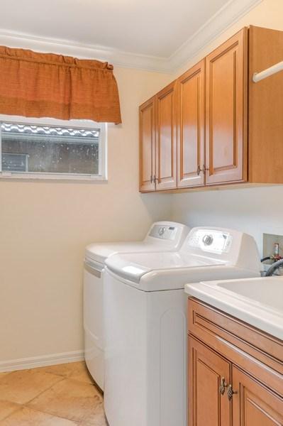 Real Estate Photography - 14638 Indigo Lakes CIR, Naples, FL, 34119 - Laundry Room