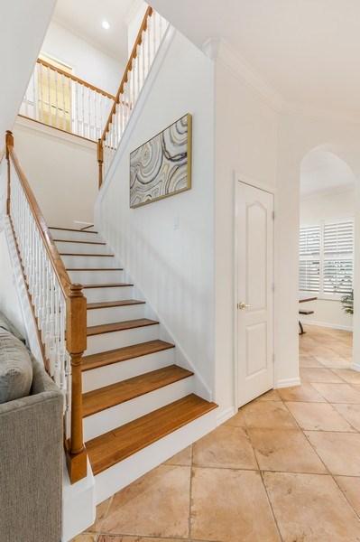Real Estate Photography - 14638 Indigo Lakes CIR, Naples, FL, 34119 - Staircase