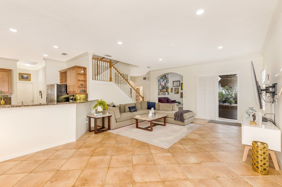 Real Estate Photography - 14638 Indigo Lakes CIR, Naples, FL, 34119 - Kitchen/Living