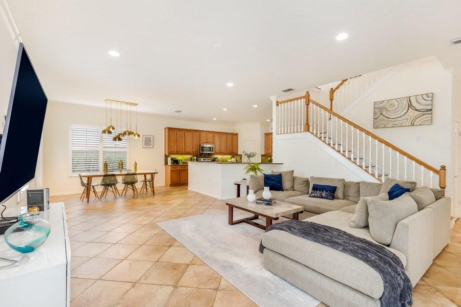 Real Estate Photography - 14638 Indigo Lakes CIR, Naples, FL, 34119 - Family Room / Kitchen