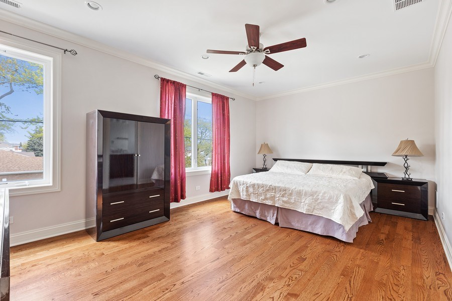 Real Estate Photography - 7805 W Monroe St, Niles, IL, 60714 - Master Bedroom