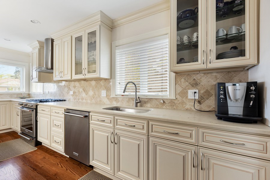 Real Estate Photography - 7805 W Monroe St, Niles, IL, 60714 - Kitchen