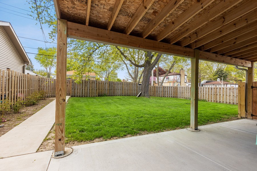 Real Estate Photography - 7805 W Monroe St, Niles, IL, 60714 - Back Yard