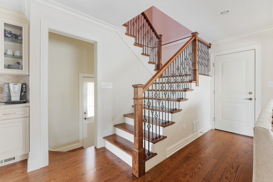 Real Estate Photography - 7805 W Monroe St, Niles, IL, 60714 - Staircase