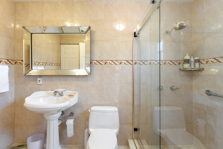 Real Estate Photography - 2130 NW 13 St, Miami, FL, 33125 - Master Bathroom