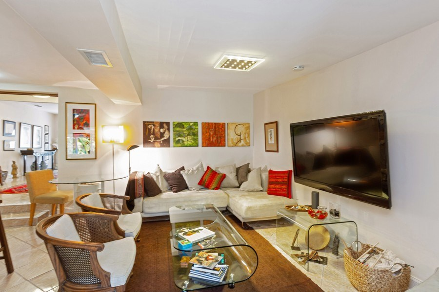 Real Estate Photography - 2130 NW 13 St, Miami, FL, 33125 - Family Room