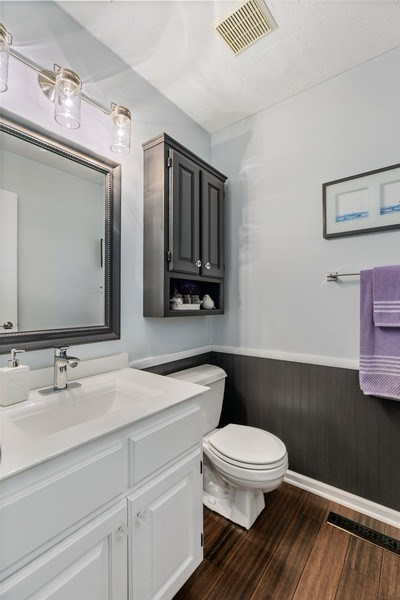 Real Estate Photography - 507 Benton St W., Cologne, MN, 55322 - 3rd Bathroom