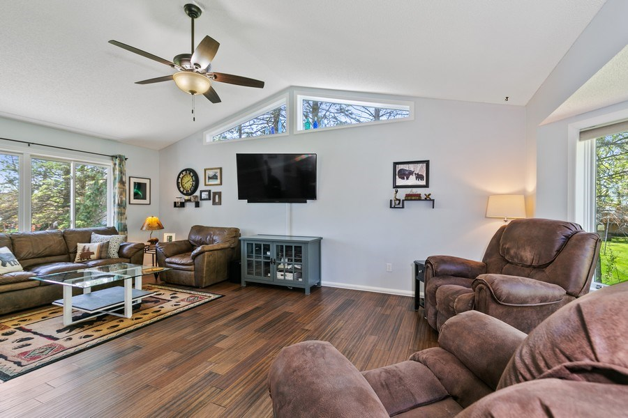 Real Estate Photography - 507 Benton St W., Cologne, MN, 55322 - Living Room 1