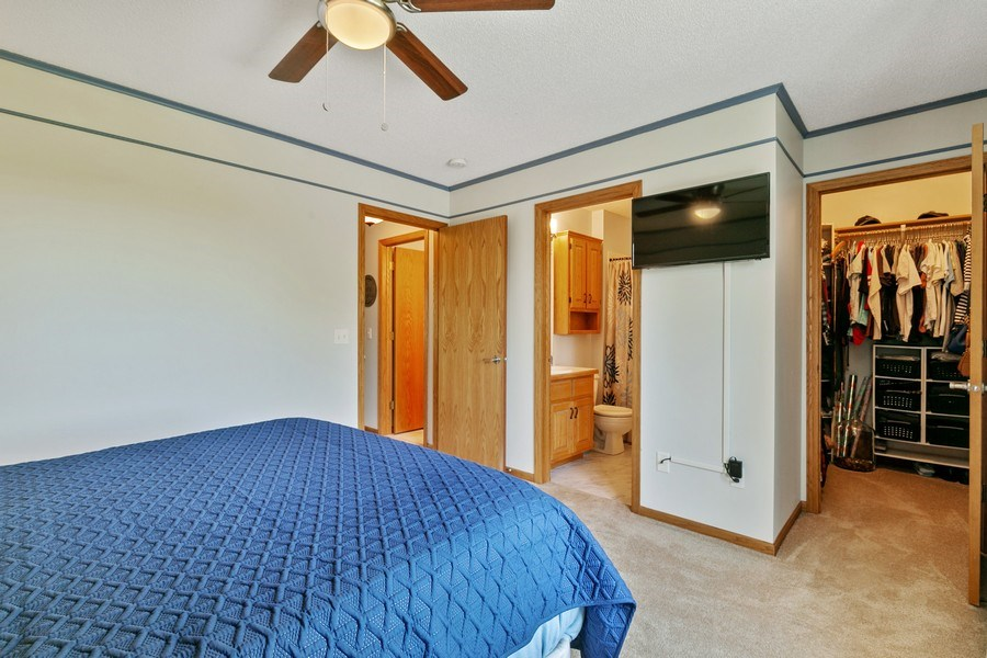 Real Estate Photography - 507 Benton St W., Cologne, MN, 55322 - Master Bedroom 2