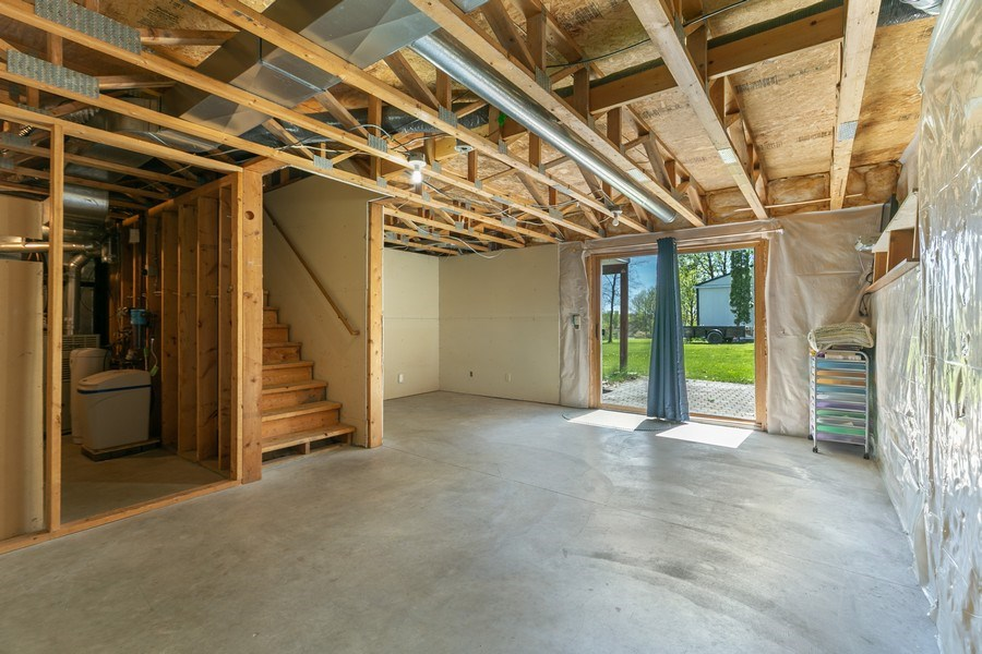 Real Estate Photography - 507 Benton St W., Cologne, MN, 55322 - Basement 1
