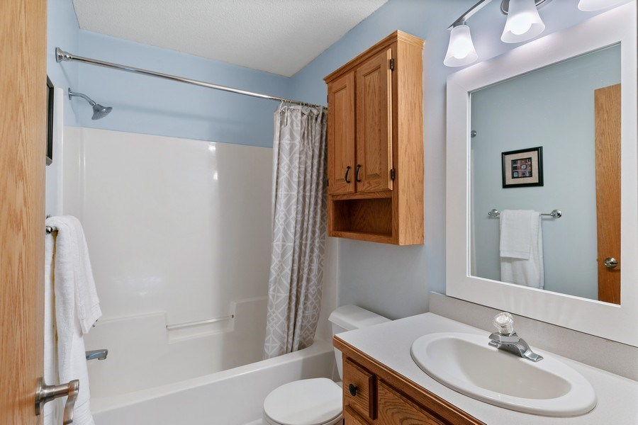 Real Estate Photography - 507 Benton St W., Cologne, MN, 55322 - Bathroom