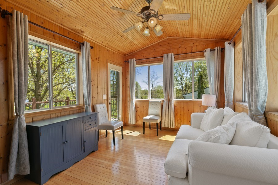Real Estate Photography - 507 Benton St W., Cologne, MN, 55322 - Sunroom 2