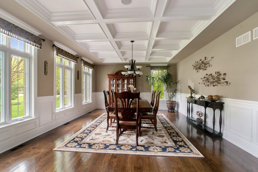 Real Estate Photography - 800 Becker, Glenview, IL, 60025 - DINING ROOM
