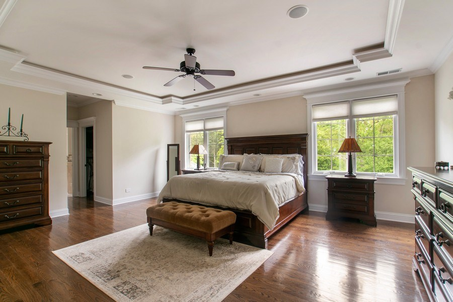 Real Estate Photography - 800 Becker, Glenview, IL, 60025 - Master Bedroom