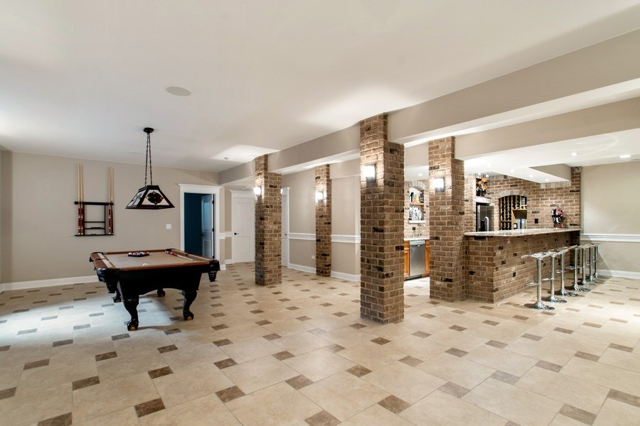 Real Estate Photography - 800 Becker, Glenview, IL, 60025 - Basement