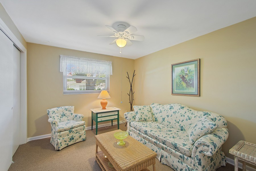 Real Estate Photography - 1389 Sea Breeze St, Clearwater, FL, 33756 - 3rd Bedroom