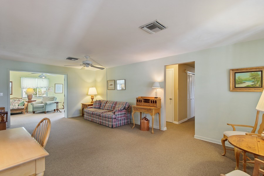 Real Estate Photography - 1389 Sea Breeze St, Clearwater, FL, 33756 - Living Room