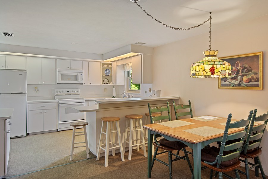 Real Estate Photography - 1389 Sea Breeze St, Clearwater, FL, 33756 - Dining Area