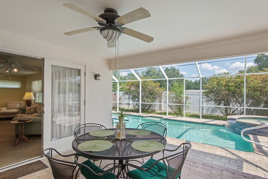 Real Estate Photography - 1389 Sea Breeze St, Clearwater, FL, 33756 - Patio