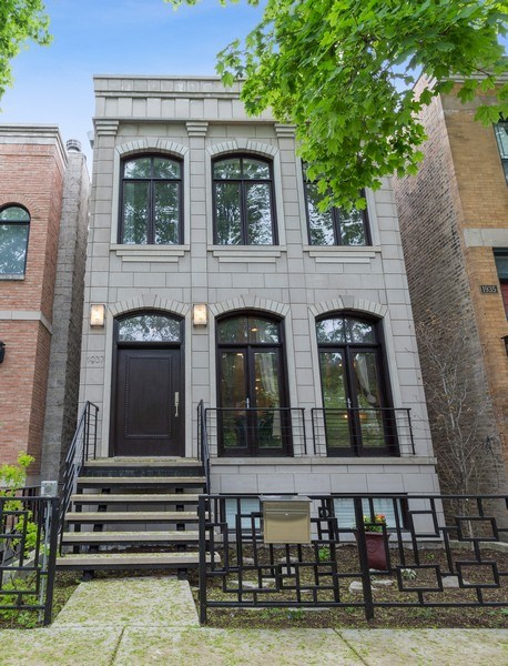 Real Estate Photography - 1937 N Wood, Chicago, IL, 60622 - Front View