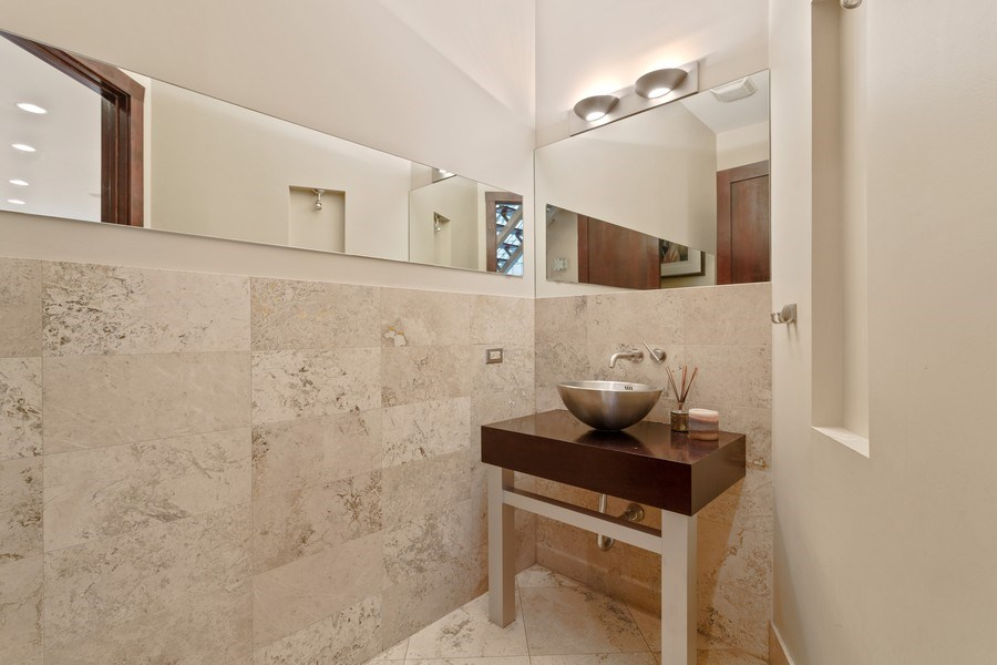 Real Estate Photography - 1937 N Wood, Chicago, IL, 60622 - Half Bath