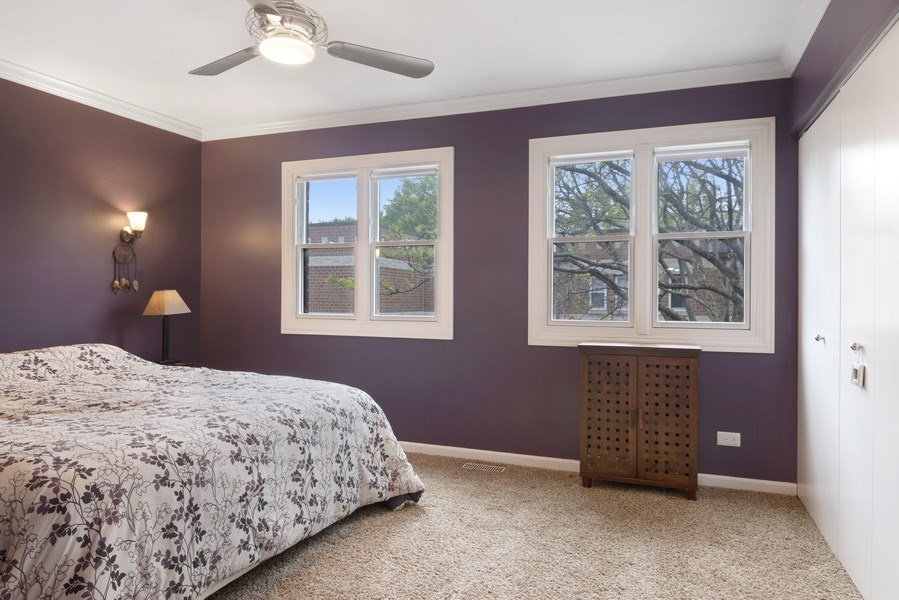 Real Estate Photography - 2720 N Greenview, Unit L, Chicago, IL, 60614 - Master Bedroom