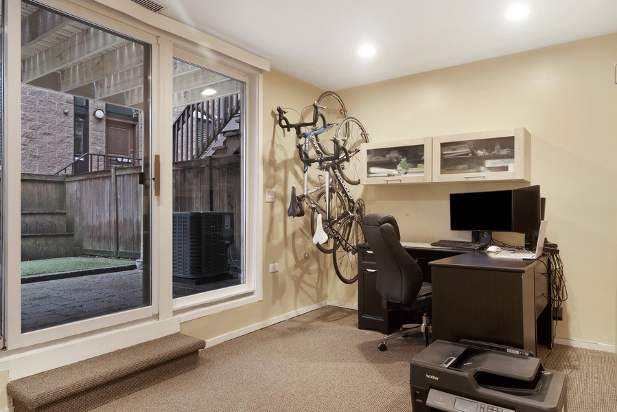 Real Estate Photography - 2720 N Greenview, Unit L, Chicago, IL, 60614 - Bedroom