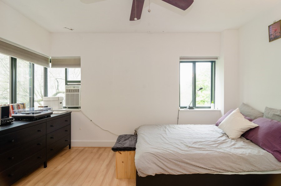 Real Estate Photography - 5040 N Marine Dr., Unit 3B, Chicago, IL, 60640 - Bedroom