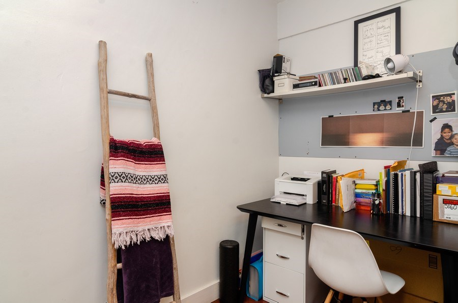 Real Estate Photography - 5040 N Marine Dr., Unit 3B, Chicago, IL, 60640 - Office
