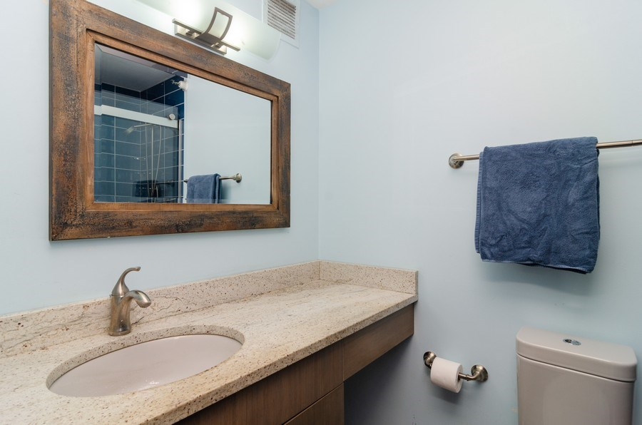 Real Estate Photography - 3660 N Lake Shore Drive, Unit 1513, Chicago, IL, 60613 - Master Bathroom