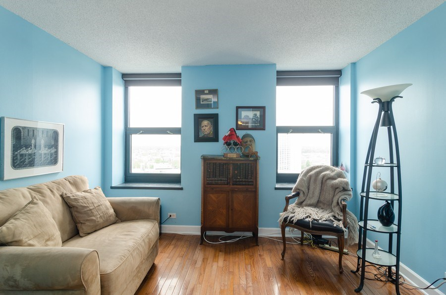 Real Estate Photography - 3660 N Lake Shore Drive, Unit 1513, Chicago, IL, 60613 - 2nd Bedroom