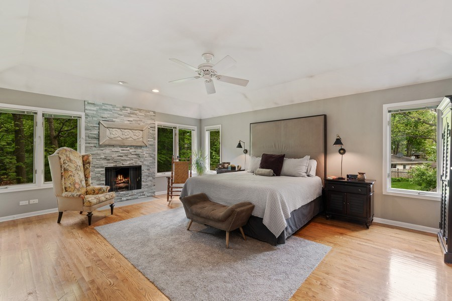 Real Estate Photography - 3860 Timbers Edge Ln, Glenview, IL, 60025 - Master Bedroom