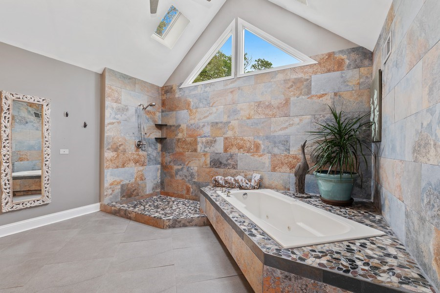 Real Estate Photography - 3860 Timbers Edge Ln, Glenview, IL, 60025 - Master Bathroom