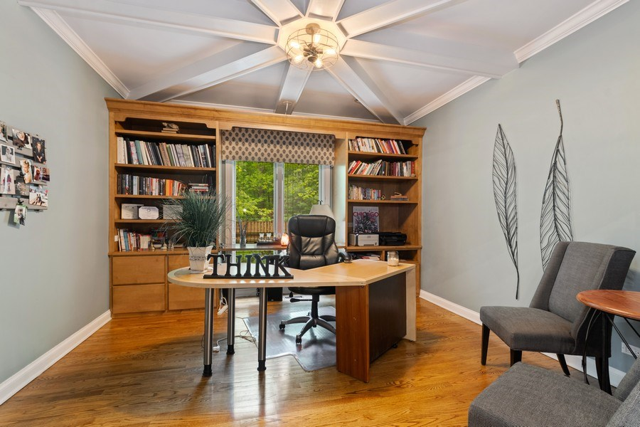 Real Estate Photography - 3860 Timbers Edge Ln, Glenview, IL, 60025 - Office