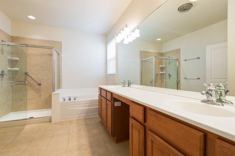 Real Estate Photography - 13973 Redmond Dr, Huntley, IL, 60142 - Master Bathroom