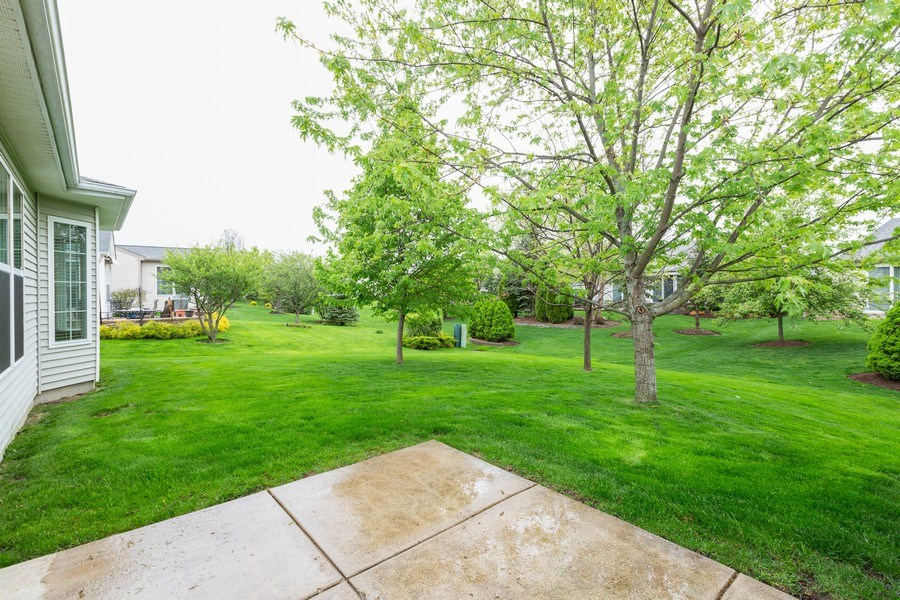 Real Estate Photography - 13973 Redmond Dr, Huntley, IL, 60142 - Back Yard