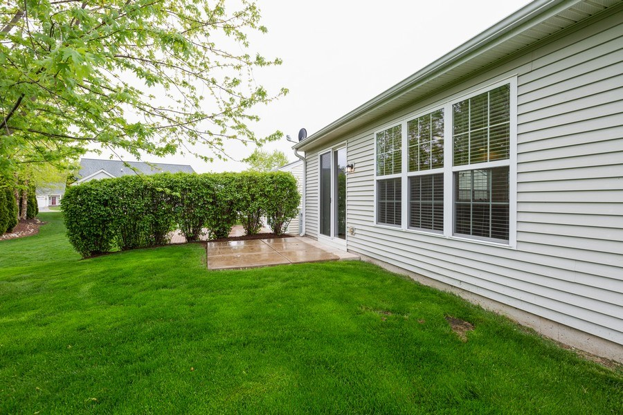 Real Estate Photography - 13973 Redmond Dr, Huntley, IL, 60142 - Patio
