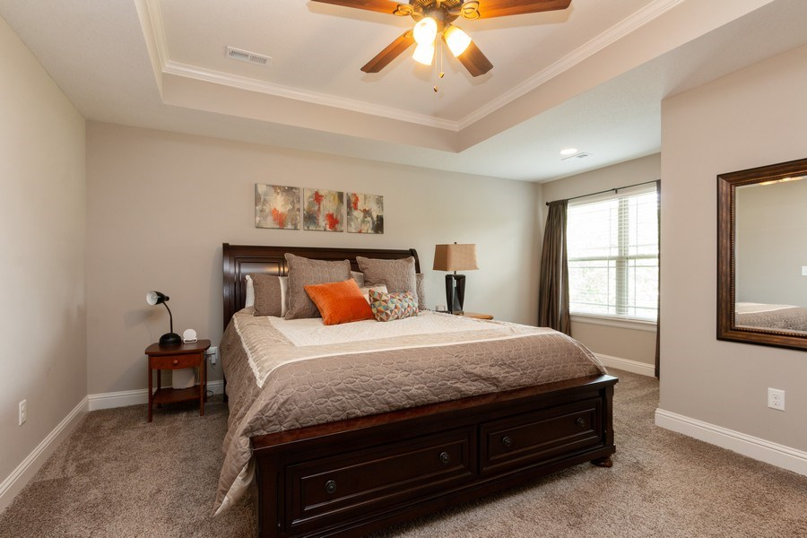 Real Estate Photography - 1915 S Cochise Ave, Independence, MO, 64057 - Master Bedroom