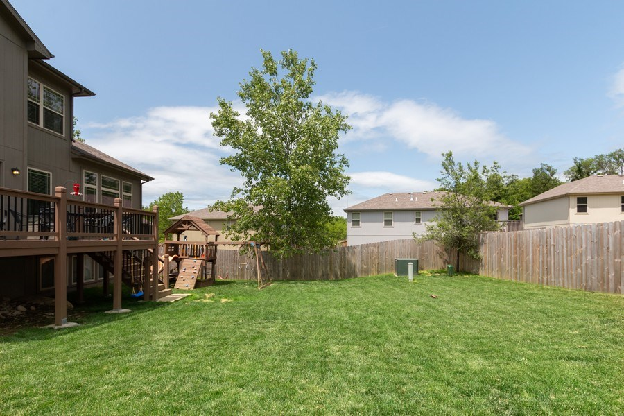 Real Estate Photography - 1915 S Cochise Ave, Independence, MO, 64057 - Back Yard