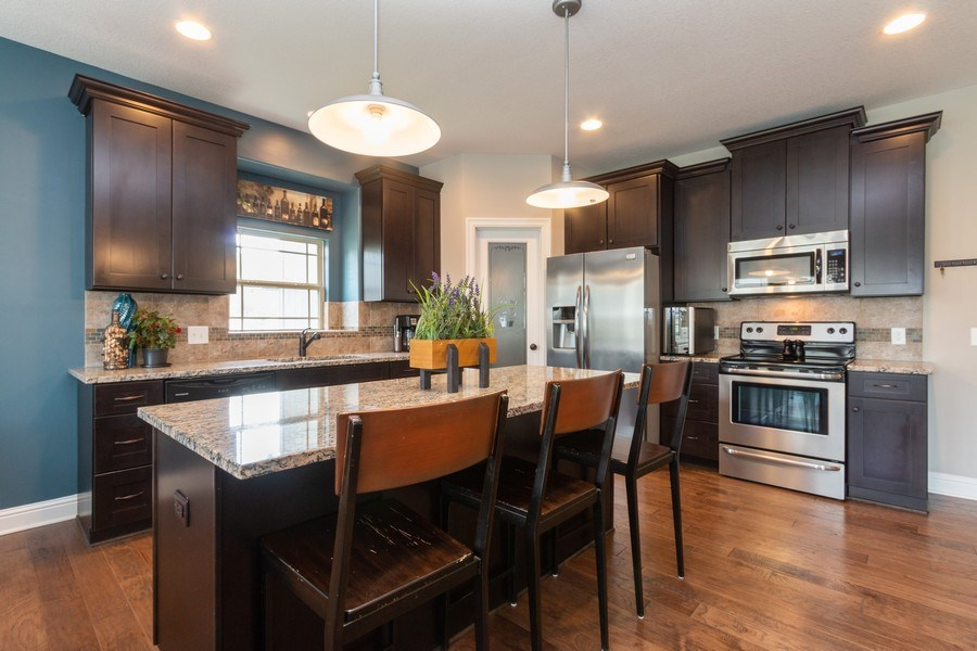 Real Estate Photography - 1915 S Cochise Ave, Independence, MO, 64057 - Kitchen