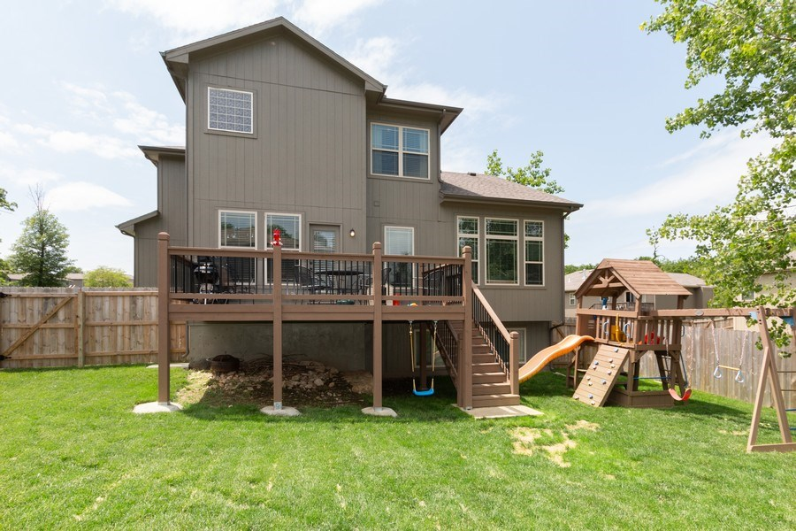 Real Estate Photography - 1915 S Cochise Ave, Independence, MO, 64057 - Rear View