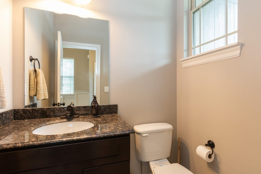 Real Estate Photography - 1915 S Cochise Ave, Independence, MO, 64057 - Half Bath