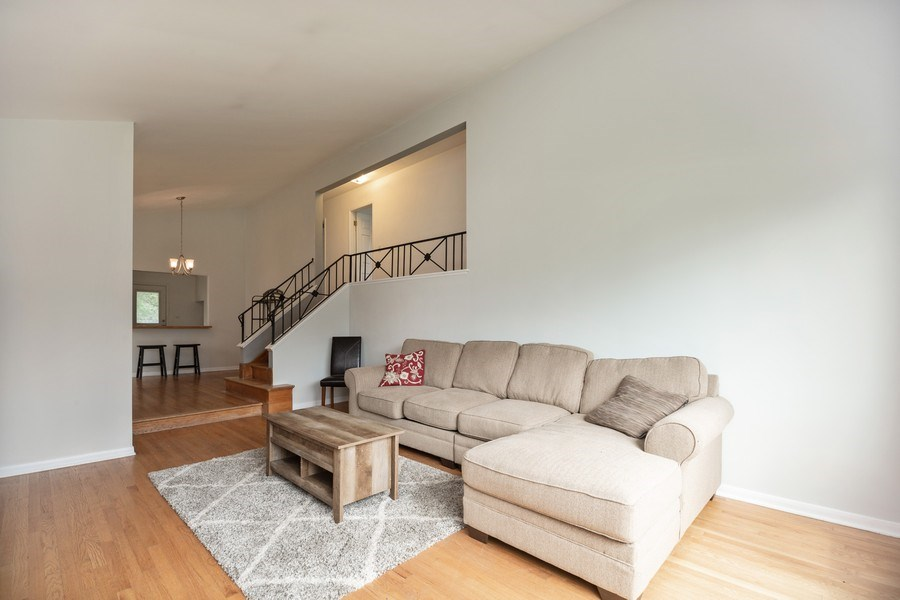Real Estate Photography - 518 Lotus, Glenview, IL, 60025 - Living Room