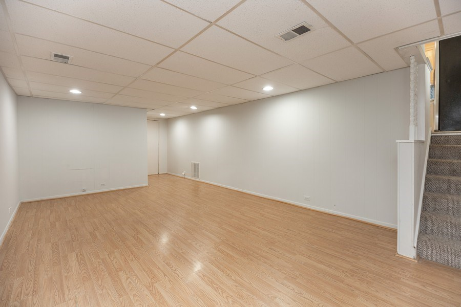 Real Estate Photography - 518 Lotus, Glenview, IL, 60025 - Basement