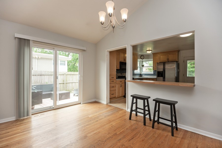 Real Estate Photography - 518 Lotus, Glenview, IL, 60025 - Dining Room