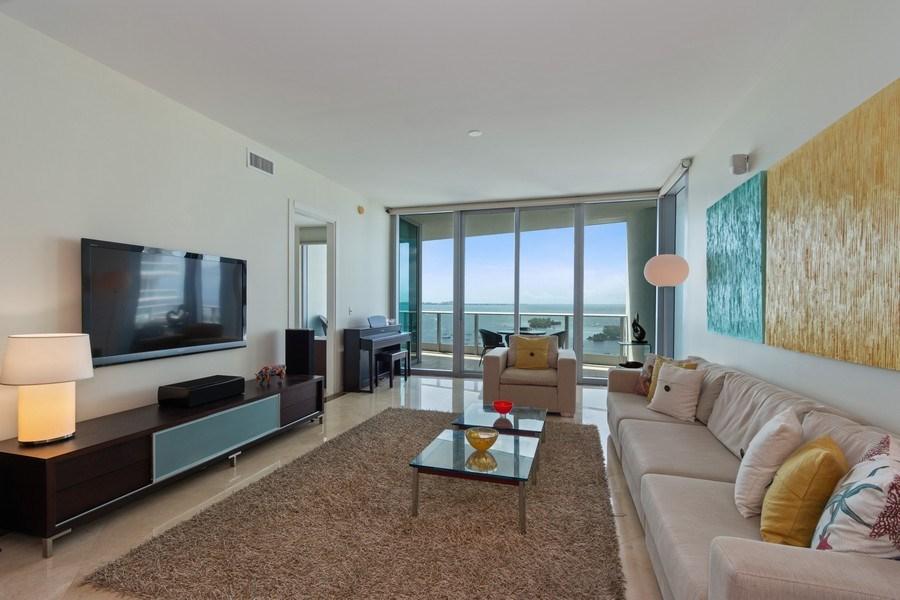 Real Estate Photography - 2627 S Bayshore Dr apt 2006, Coconut Grove, FL, 33133 - Living Room
