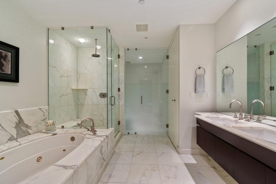 Real Estate Photography - 2627 S Bayshore Dr apt 2006, Coconut Grove, FL, 33133 - Master Bathroom