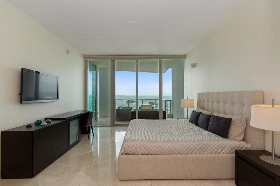 Real Estate Photography - 2627 S Bayshore Dr apt 2006, Coconut Grove, FL, 33133 - Master Bedroom