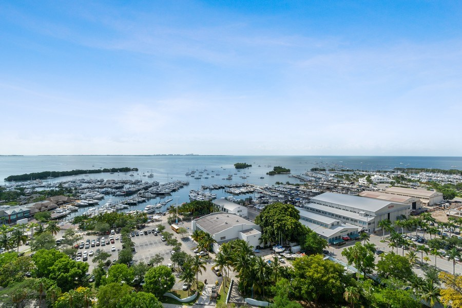 Real Estate Photography - 2627 S Bayshore Dr apt 2006, Coconut Grove, FL, 33133 - View